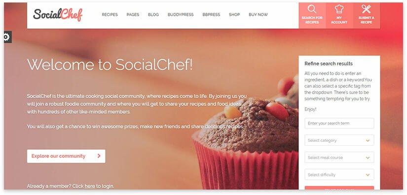 culinary site