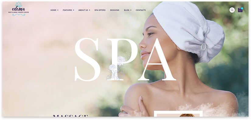 spa theme for the project