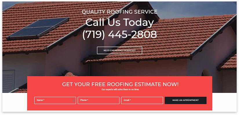 roofing theme wordpress