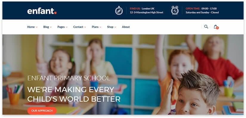 website for school
