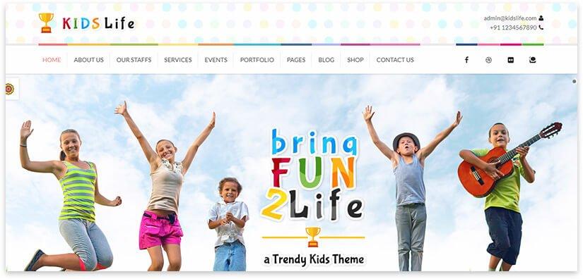 site about kindergarten