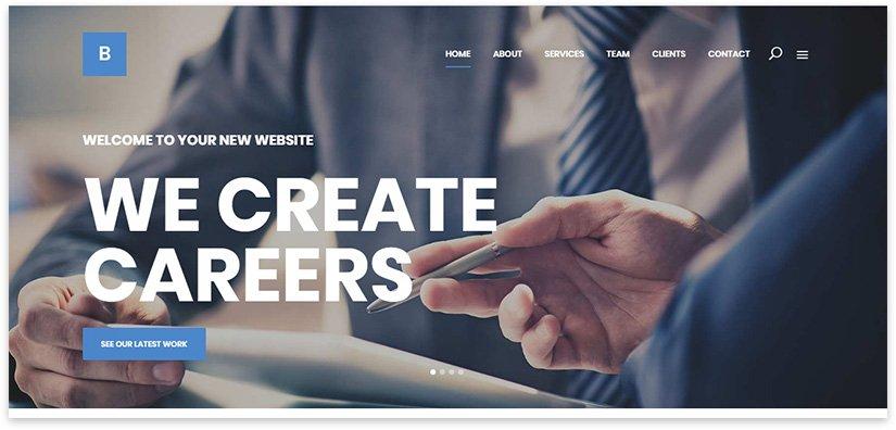 Web resource on business topics