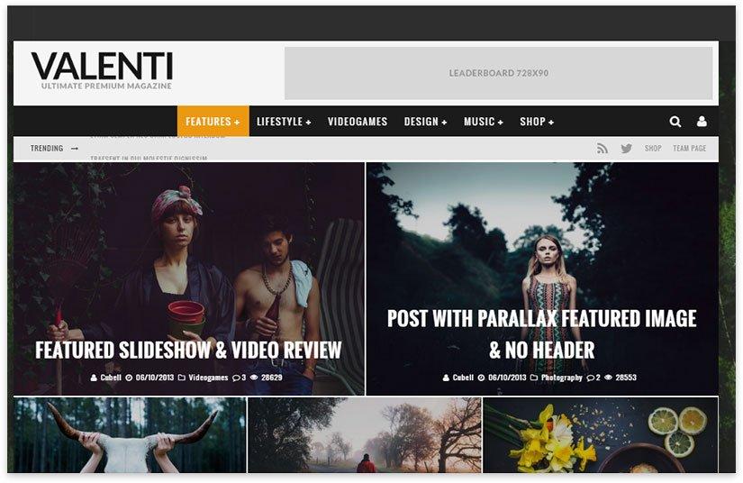 Wordpress News Templates