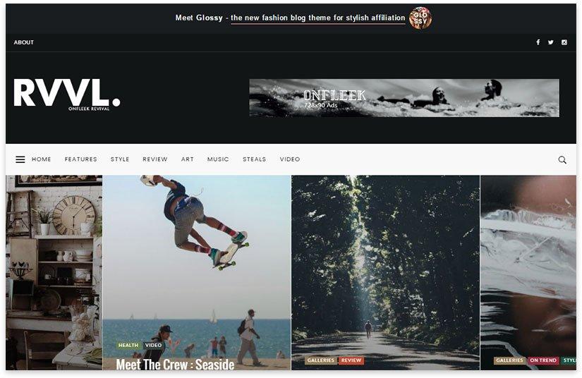 Photo portal Rvvl