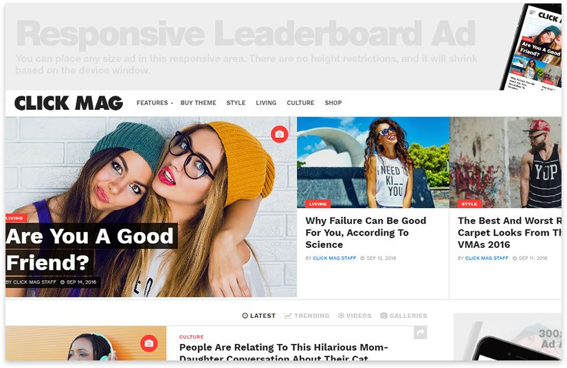 responsive wordpress news templates