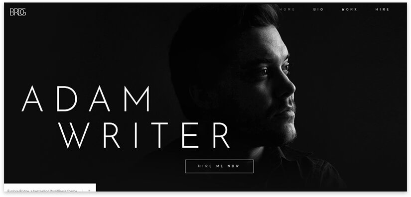 Site for the writer