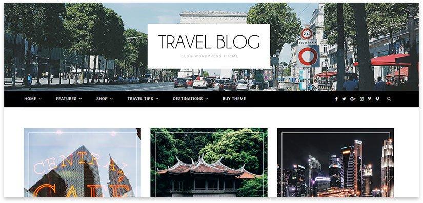 шаблон туризм