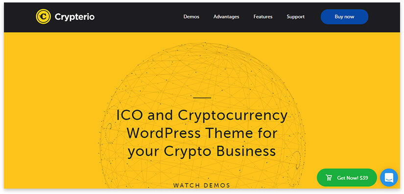 Cryptocurrency site