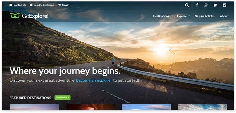 30+ WordPress Templates on Tourism, Travel, Travel Blog 2020