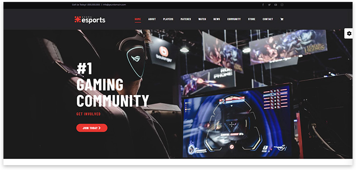 eSports theme