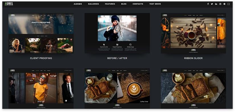 Фото тема для сайта
