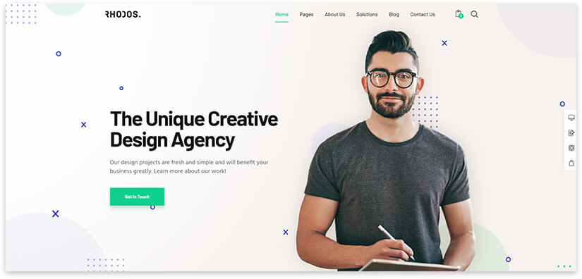 website for freelancer
