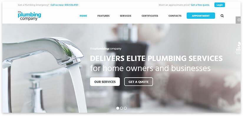 plumbing site