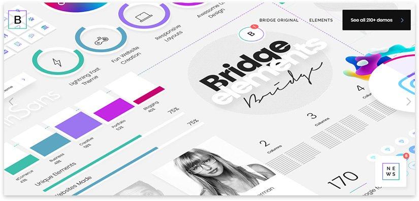bridge - ui design elements
