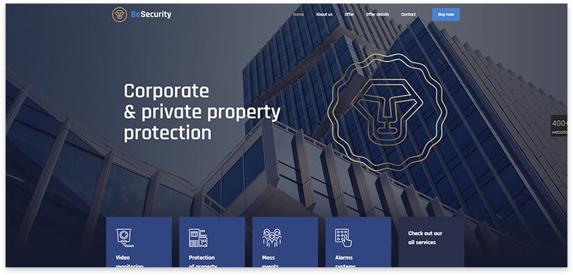 security site theme