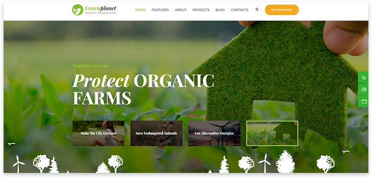Alternative Energy Website Template