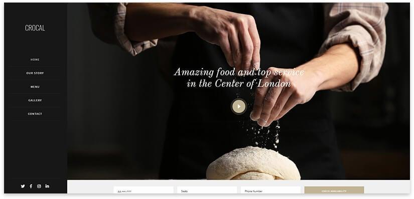 Wordpress Bakery Template