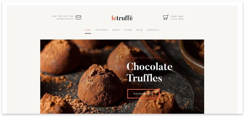 Wordpress Truffle Pattern