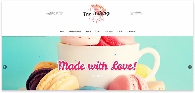 Wordpress Cake Pro Template