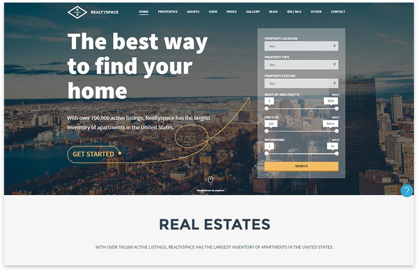 realty creative template