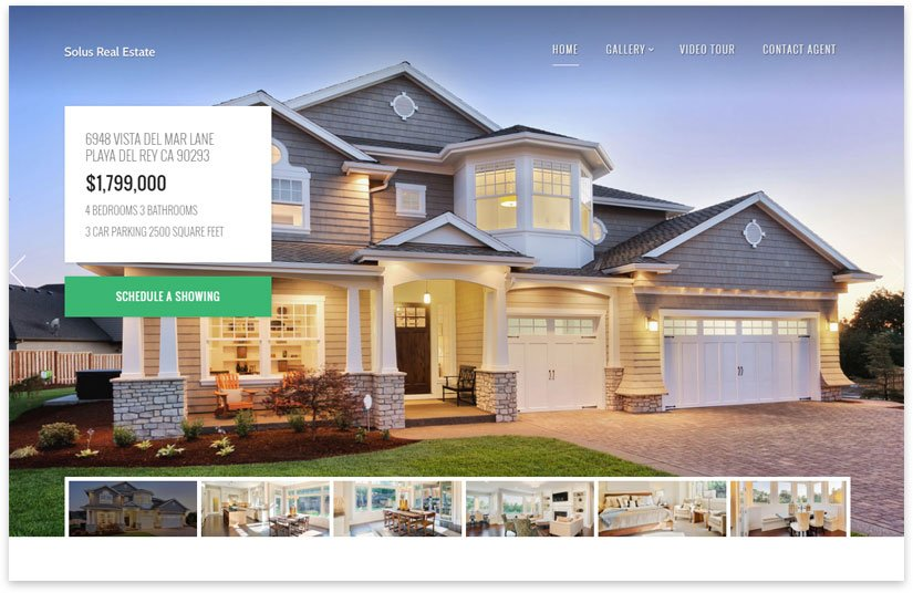 30 WordPress 2020 Real Estate Website Templates