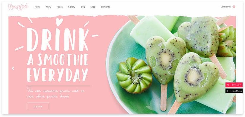 Smoothie website