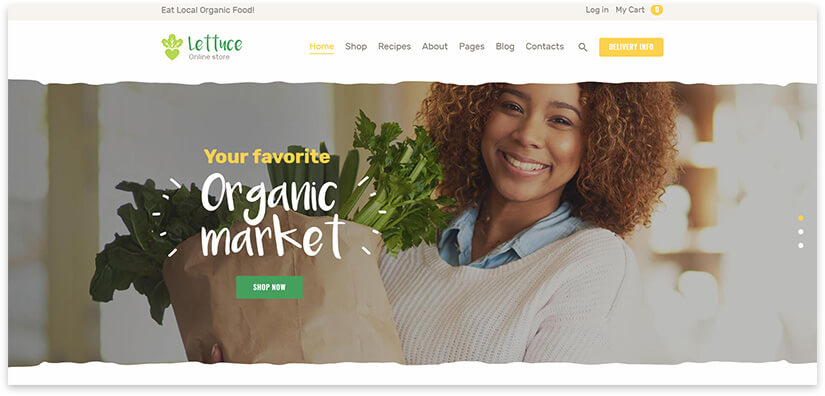 eco product website
