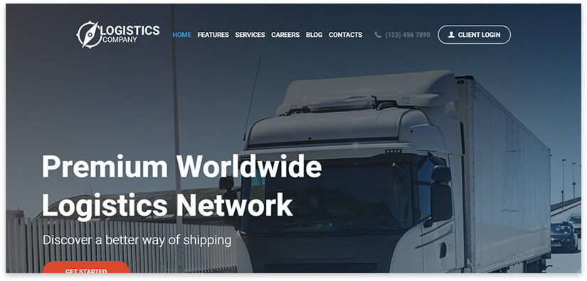 trucking WordPress
