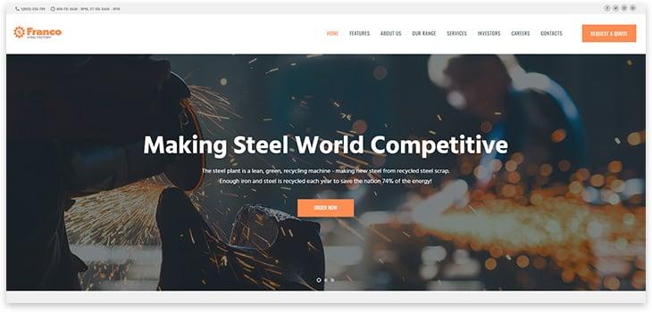 Wordpress theme factory