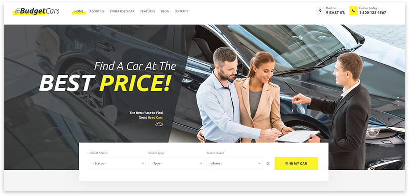 Car rental and sale