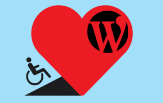 wordpress for disabled people