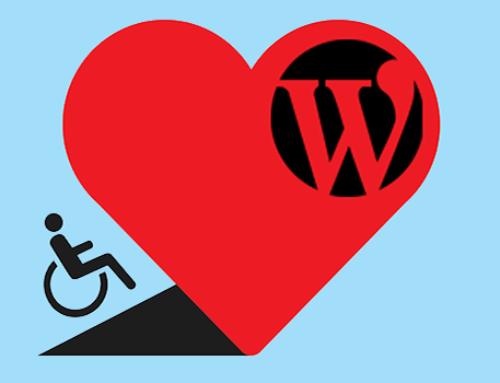 How can people with disabilities make money by using WordPress?
