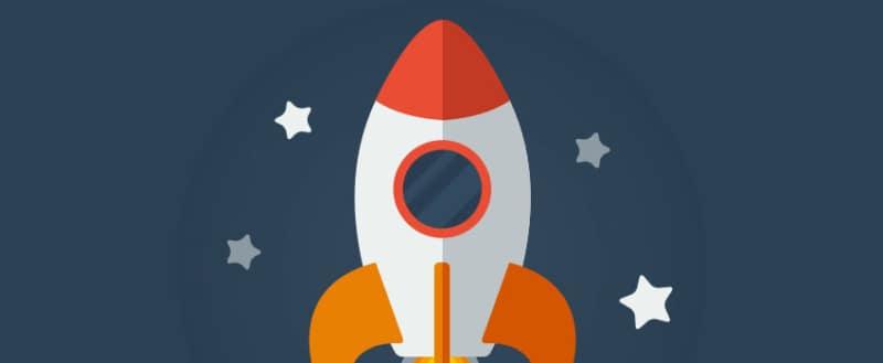 rocket banner