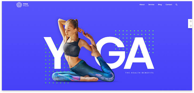 Yoga pattern modern