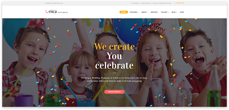 Wordpress Holiday Website
