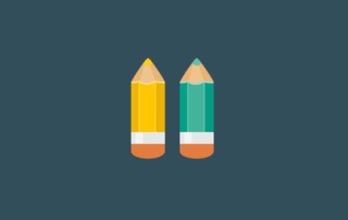 two pencils design