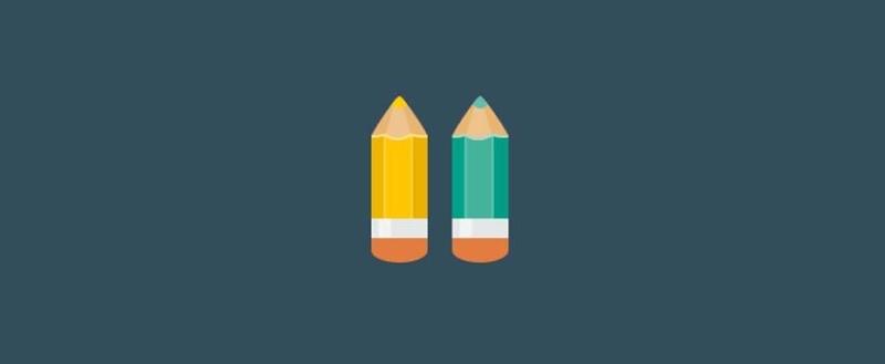 two pencils design