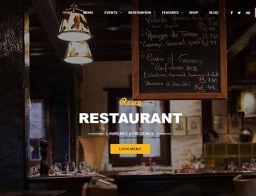 Top 18 Best WordPress Themes for Restaurants