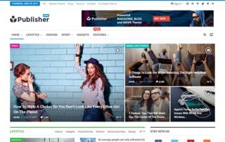 fashin wordpress theme