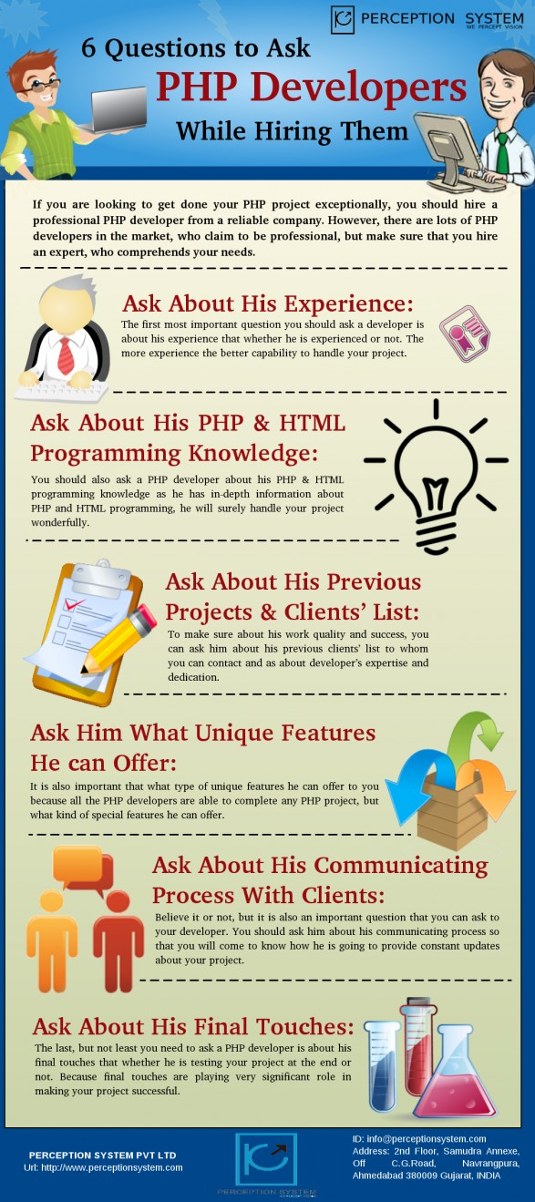 ask web develope infographic